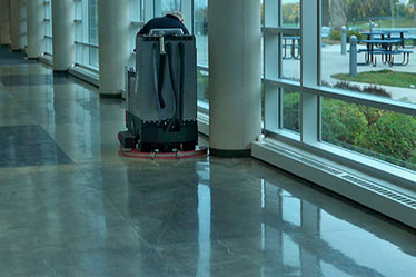 Concrete Floor Polishing in Cleveland, Ohio by Cheetah Commercial Cleaning, Inc.