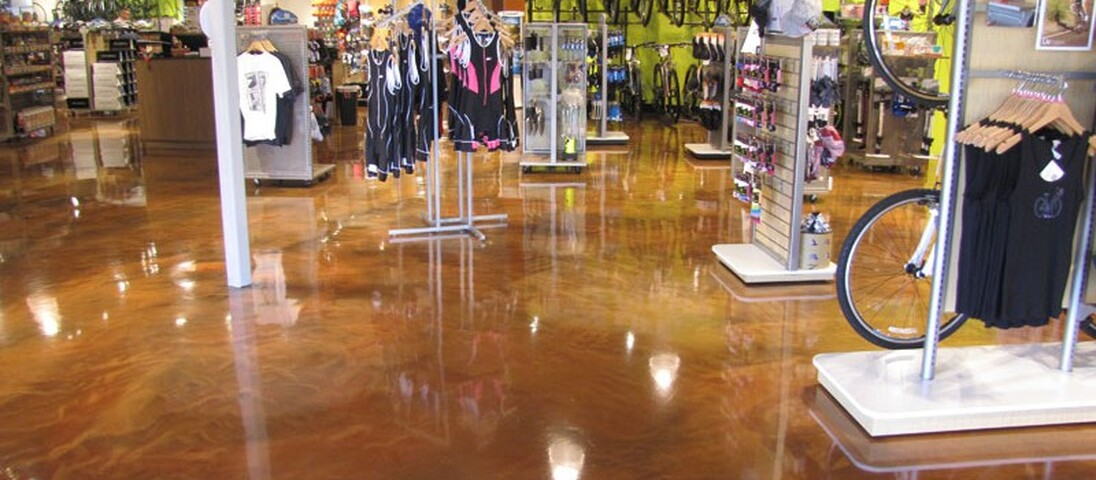 ARMOUR® Metallic Epoxy™ Floor Coating System in Cleveland, OH by Cheetah Floor Systems, Inc.