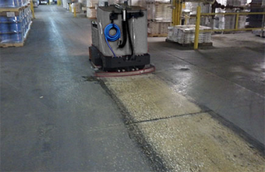 Concrete Floor Cleaning in Cleveland, Ohio