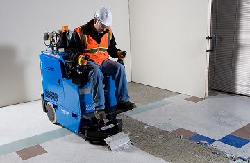 Floor Coating Removal Services in Cleveland, OH by Cheetah Floor Systems, Inc.