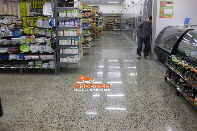 Grocery Store Concrete Floor Polishing in Cleveland, OH