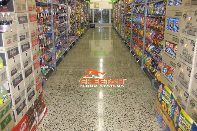 Grocery Store Polished Concrete in Cleveland, OH