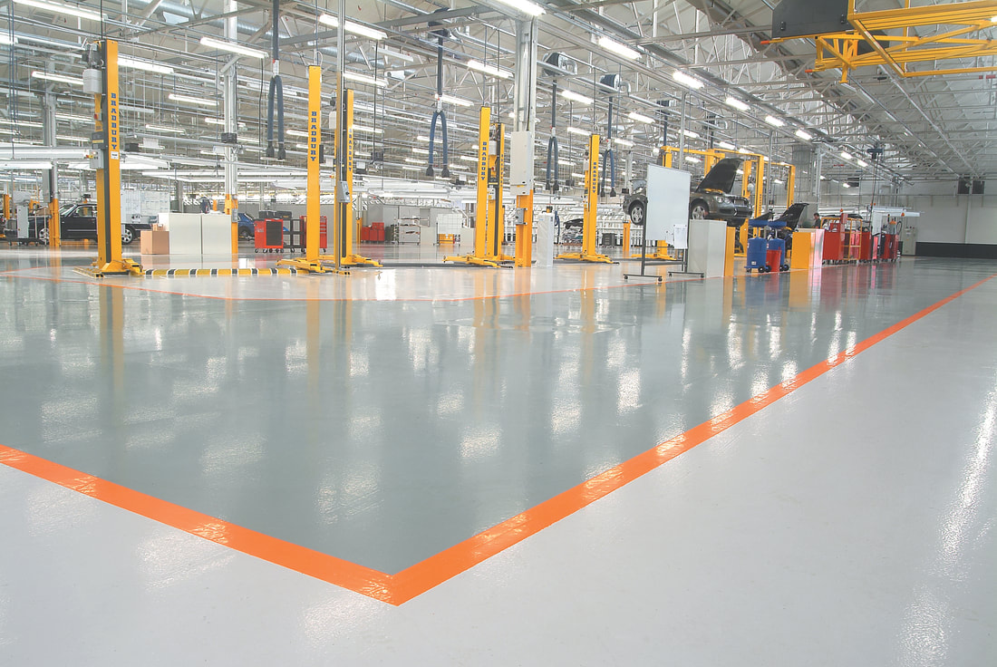Industrial Floor Coating in Cleveland, OH - Cheetah Floor Systems, Inc.