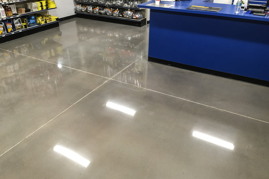 Polished Concrete Floors in Cleveland, OH - Cheetah Floor Systems, Inc.