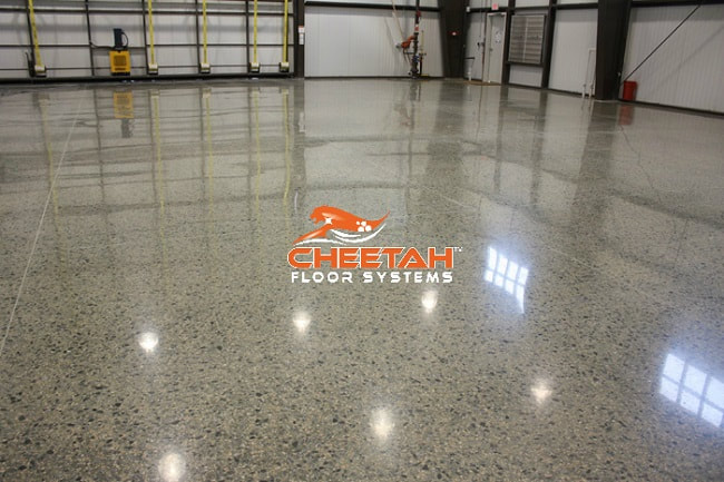 Warehouse Concrete Floor Polishing in Cleveland, OH